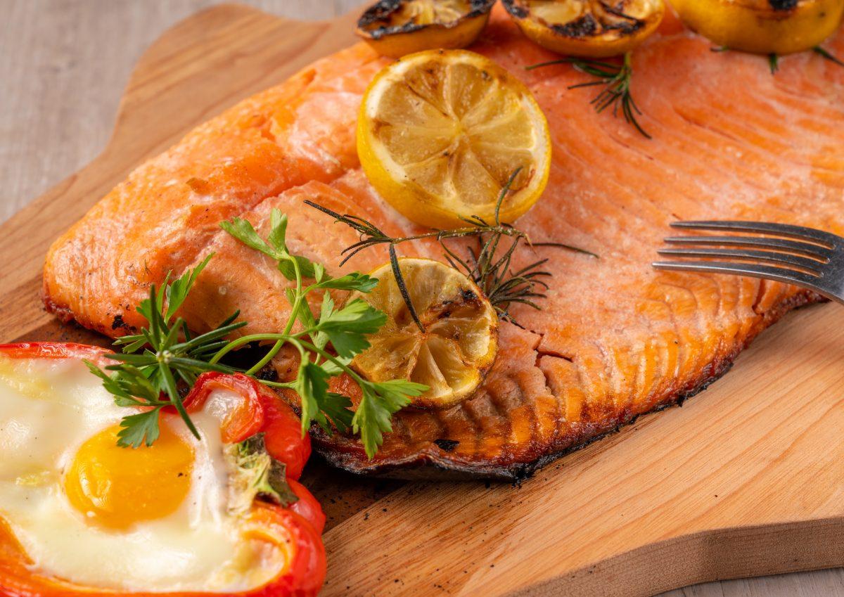El salmón es un producto seguro