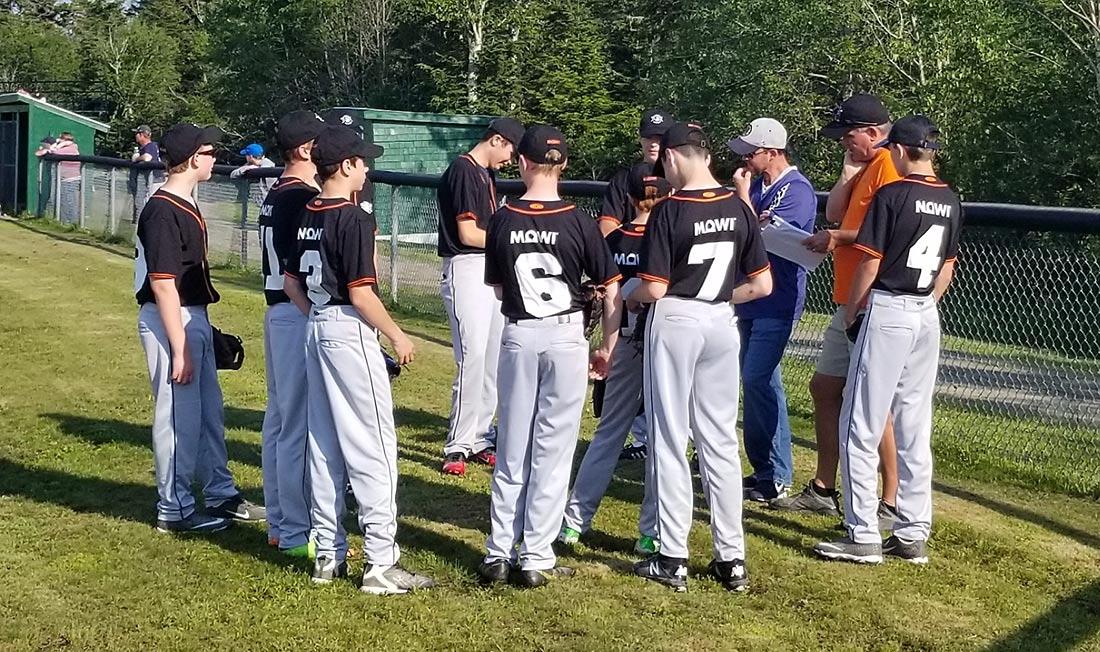 Mowi Canada East Baseball Team