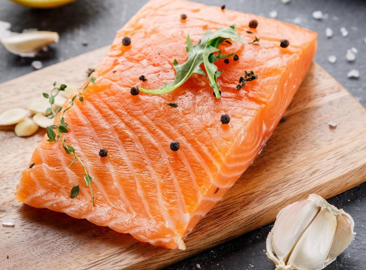 Un salmone di alta qualità