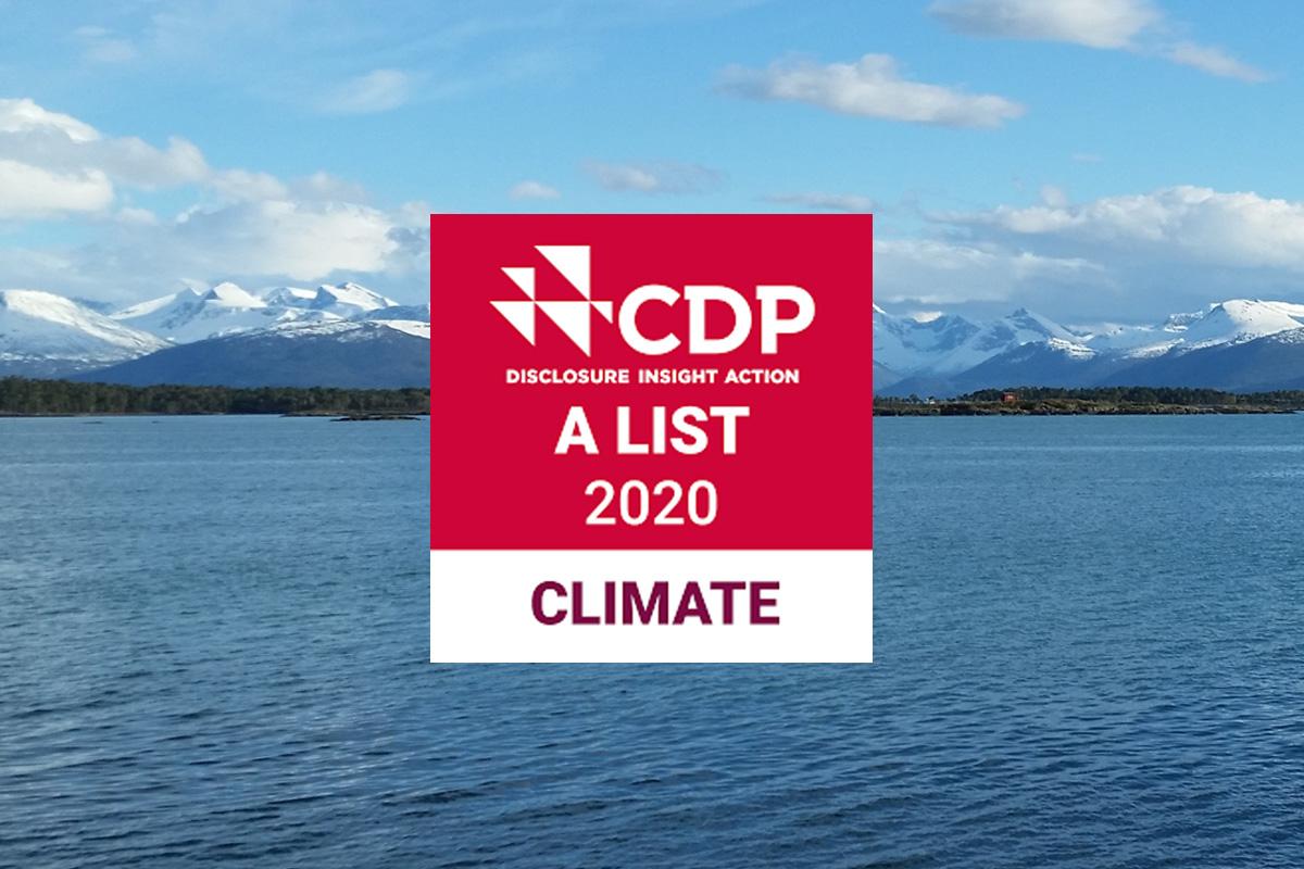 """Mowi è entrata nella """"A List"""" di CDP grazie al suo impegno per la lotta al cambiamento climatico"""