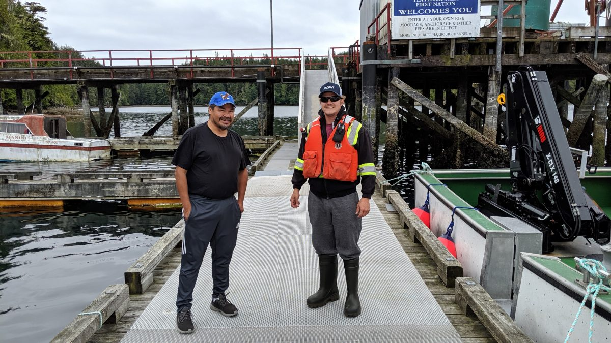 Dock Improvements at Bull Harbour Benefit Everyone