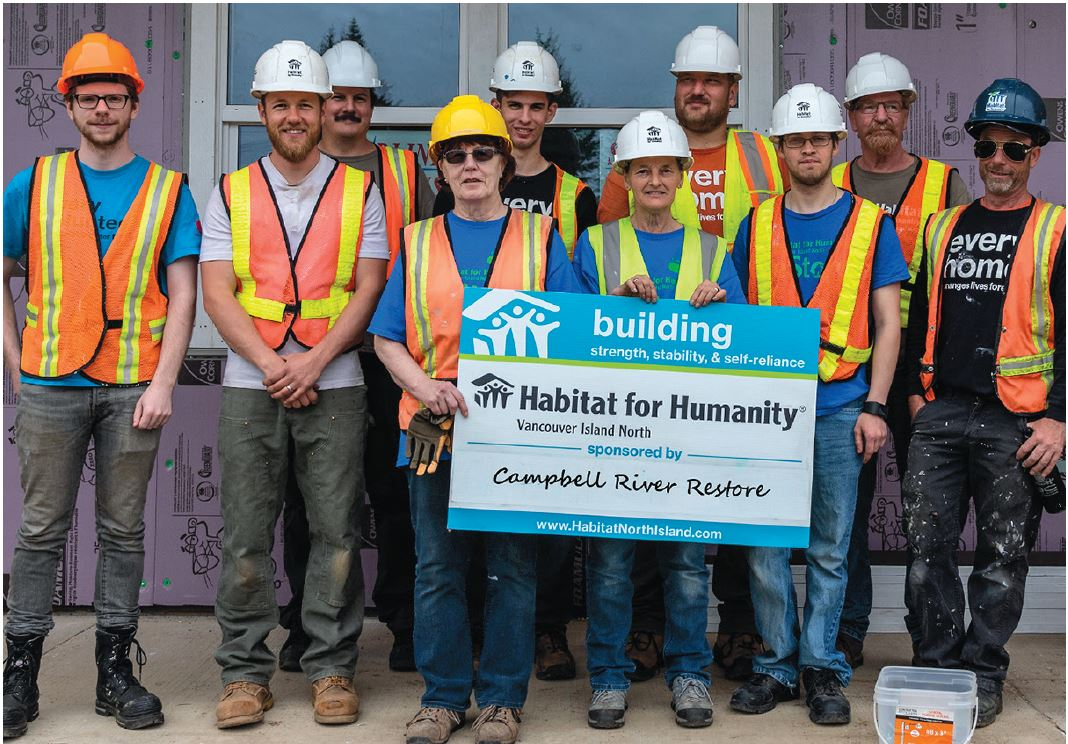 Mowi Helps Build Habitat For Humanity