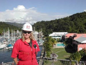 Cindy Taylor in Trinidad